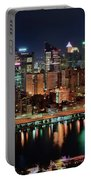 High Above Pittsburgh Portable Battery Charger