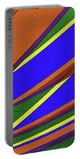 High Power Wires Abstract Color Sky Portable Battery Charger