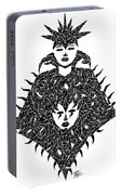 High Priestess Portable Battery Charger