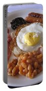 High Protein Breakfast Portable Battery Charger