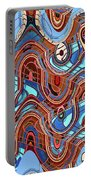 High Rise Abstract Phoenix Portable Battery Charger