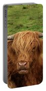 Highland Coo Portable Battery Charger
