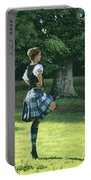 Highland Dancer Portable Battery Charger