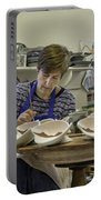 Highland Stoneware Artist At Work Portable Battery Charger