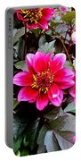 Highlands Ranch Floral Study 1 Portable Battery Charger