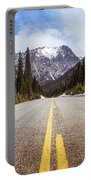 Highway 20 On Rainy Pass In North Cascades National Park Portable Battery Charger