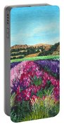 Highway 246 Flowers 3 Portable Battery Charger