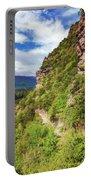 Hike Up Mt Iron Wanaka New Zealand Portable Battery Charger