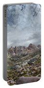 Hiker At Twin Lakes - Chicago Basin - Weminuche Wilderness - Colorado Portable Battery Charger
