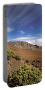 Hikers Inside Haleakala  Portable Battery Charger