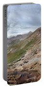 Hikers On Columbine Pass - Weminuche Wilderness - Colorado Portable Battery Charger