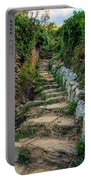 Hiking In Cinque Terre Italy Portable Battery Charger