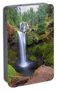 Hiking To Falls Creek Falls Portable Battery Charger