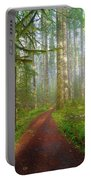 Hiking Trail In Washington State Park Portable Battery Charger