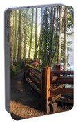 Hiking Trails At Lower Lewis River Trail Portable Battery Charger