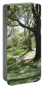 Hill 60 Cratered Landscape Portable Battery Charger