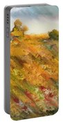 Hillside Flowers II Portable Battery Charger