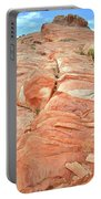 Hillside Of Color In Valley Of Fire Portable Battery Charger