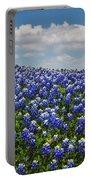 Hillside Texas Bluebonnets Portable Battery Charger