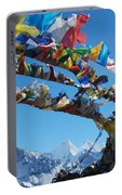Himalayas In Nepal Portable Battery Charger