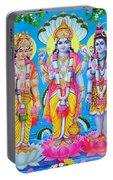 Hindu Trinity Brahma Vishnu Shiva Portable Battery Charger