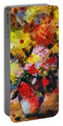 Hint Of Klimt Portable Battery Charger