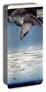 Hiroshige: Edo/eagle, 1857 Portable Battery Charger