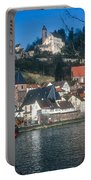 Hirschhorn Village On The Neckar Portable Battery Charger