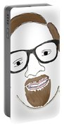 Hipster Him Portable Battery Charger