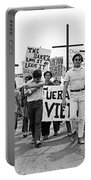 Hispanic Anti-viet Nam War March 1 Tucson Arizona 1971 Portable Battery Charger