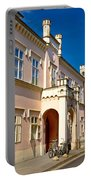 Historic Architecture Of Town Bjelovar Portable Battery Charger