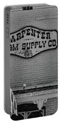 Historic Carpenter Farm Supply Sign Portable Battery Charger