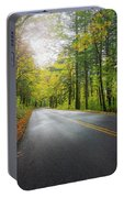 Historic Columbia River Highway In Fall Portable Battery Charger