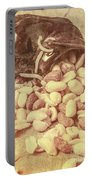 Historic Food Art Portable Battery Charger