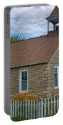 Historic Hinerville Schoolhouse  Portable Battery Charger