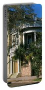 Historic Houses In A City, Charleston Portable Battery Charger