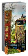 Historic Intersection Portable Battery Charger