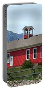 Historic Maysville School In Colorado Portable Battery Charger