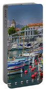 Historic Port Of Nice, France Portable Battery Charger