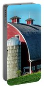 Historic Red Barn - Palouse Region - Washington Portable Battery Charger