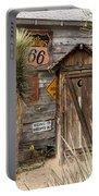 Historic Route 66 - Outhouse 2 Portable Battery Charger