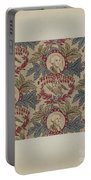 Historical Printed Textile Portable Battery Charger