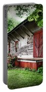 Historical Train Station In Belle Mina Alabama Portable Battery Charger