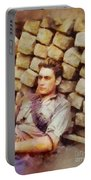 History In Color. French Resistance Fighter, Wwii Portable Battery Charger