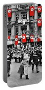 Hitler With Goering And Himmler Marching In Munich Germany C.1934-2016  Portable Battery Charger