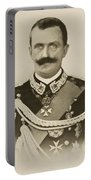 H.m. Victor Emmanuel IIi Of Italy Portable Battery Charger