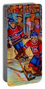Hockey  Hero Portable Battery Charger