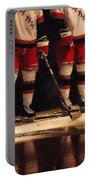 Hockey Reflection Portable Battery Charger