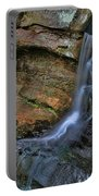 Hocking Hills State Park Small Waterfall Portable Battery Charger