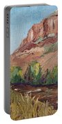 Hogback In Early Fall At Watson Lake Portable Battery Charger